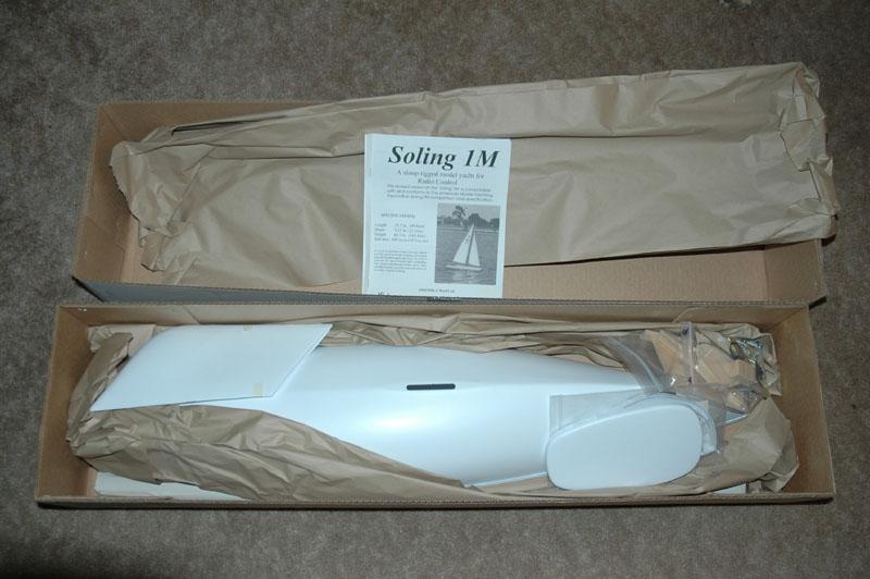Victor Soling 1 Meter R/C Sailboat Kit AMYA New-in-Box